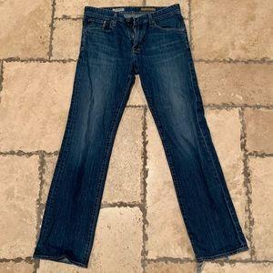 AG men's protégé straight leg blue jean 32/34
